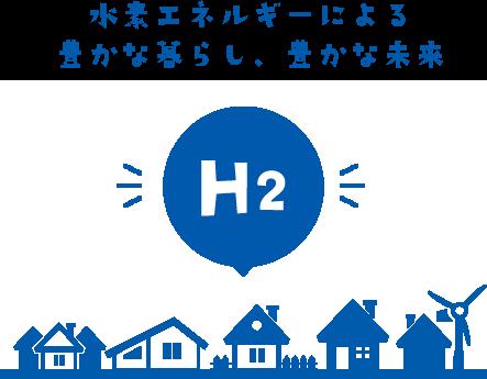 水素エネルギーによる 豊かな暮らし、豊かな未来